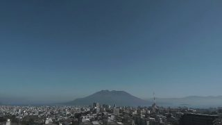 KTS本社から見える桜島ライブカメラ(USTREAM)と雨雲レーダー/鹿児島県鹿児島市
