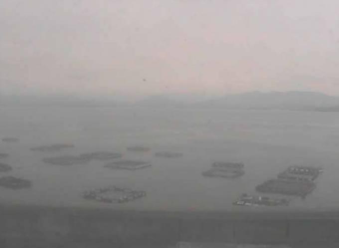 嘉島漁港ライブカメラと雨雲レーダー/愛媛県宇和島市