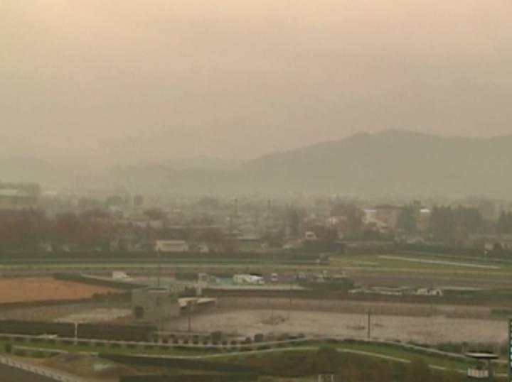 停止中:福島競馬場ライブカメラと雨雲レーダー/福島県福島市