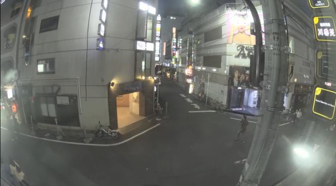 停止中:歌舞伎町ライブカメラと雨雲レーダー/東京都新宿区