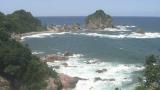 鳥取県岩美町 城原海岸ライブカメラと雨雲レーダー