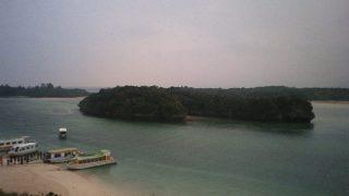 川平湾ライブカメラと雨雲レーダー/沖縄県石垣市