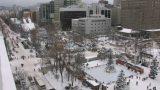 さっぽろ雪まつり J:COMひろば ライブカメラと雨雲レーダー/北海道札幌市