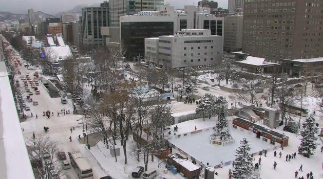 停止中:さっぽろ雪まつり J:COMひろば ライブカメラと雨雲レーダー/北海道札幌市