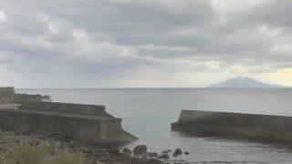 トカラ列島 中之島ライブカメラ( KTS鹿児島テレビ)と雨雲レーダー/鹿児島県十島村