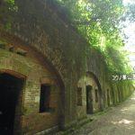 天空の城ラピュタを思わせる『友ヶ島・第3砲台跡』360度パノラマカメラ