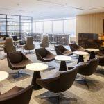羽田空港・国際線 JAL「サクララウンジ(Sakura Lounge)」360度パノラマカメラ