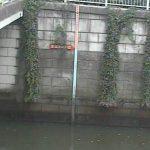 目黒川(荏原池上)の水位ライブカメラ