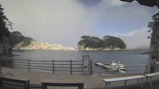 浄土ヶ浜ライブカメラ(浄土ヶ浜マリンハウス)と雨雲レーダー/岩手県宮古市