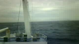 東京都から八丈島までの航路ライブカメラと雨雲レーダー/東京都伊豆諸島
