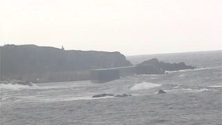 相川春日崎ライブカメラと雨雲レーダー/新潟県佐渡市(佐渡島)