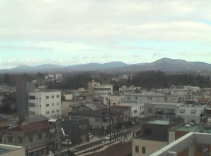 停止中:須賀川の街の様子が見れるライブカメラと雨雲レーダー/福島県須賀川市