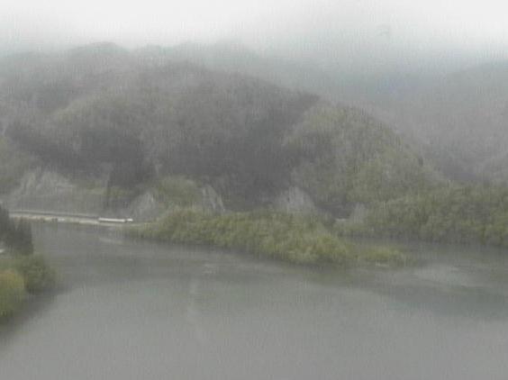 庄川峡ダム湖ライブカメラ