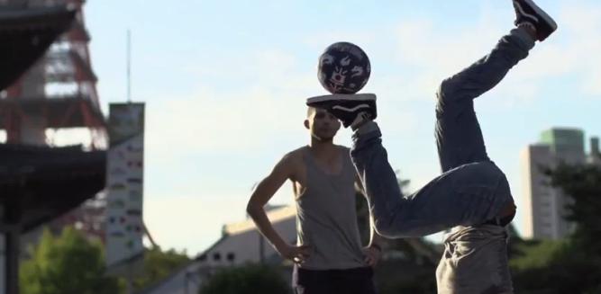 フリースタイル・フットボールの世界大会2013年『Red Bull Street Style World Final』ライブカメラ