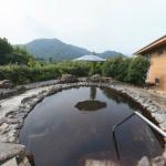 むいかいち温泉ゆらら 露天風呂の360度パノラマカメラ