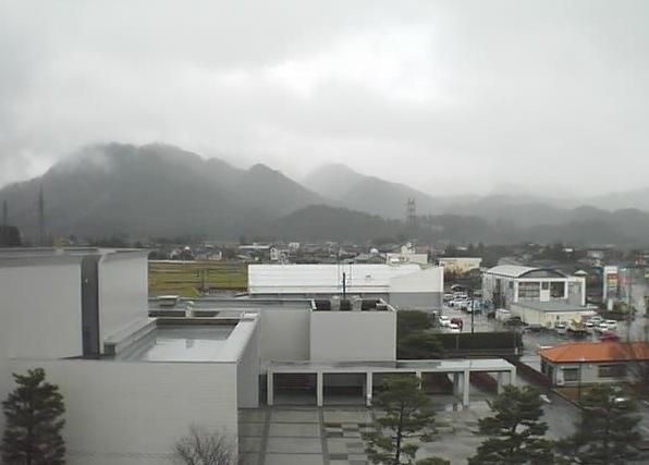 櫛形山脈ライブカメラと雨雲レーダー/新潟県胎内市