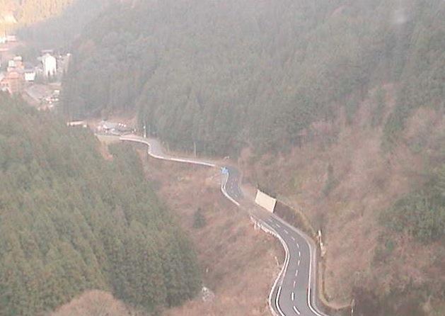 祖谷トンネル周辺ライブカメラと雨雲レーダー/徳島県三好市