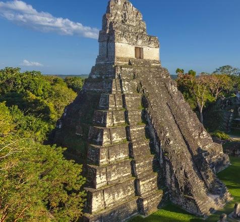 マヤのピラミッド「ティカル」360度パノラマカメラ