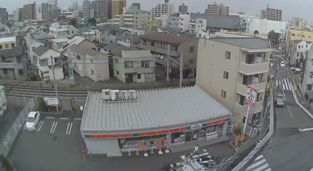 西ケ原4丁目と都電荒川線ライブカメラ(USTREAM)