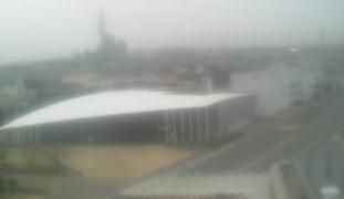 停止中:日本大学理工学部 船橋校舎ライブカメラと雨雲レーダー/千葉県船橋市