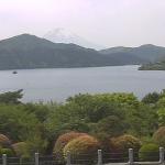 恩賜箱根公園湖畔と富士山ライブカメラ