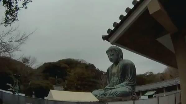 鎌倉大仏殿高徳院 ライブカメラと雨雲レーダー/神奈川県鎌倉市