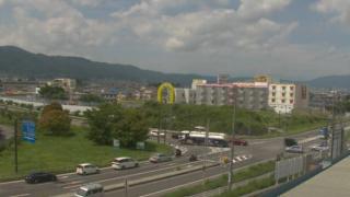 諏訪インターチェンジ出入口交差点ライブカメラと雨雲レーダー/長野県諏訪市