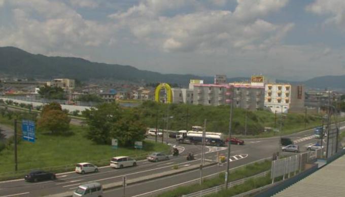 長野県諏訪市 諏訪インターチェンジ出入口交差点ライブカメラと雨雲レーダー