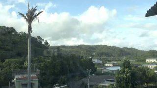 停止中:我部祖河のお天気ライブカメラ(YouTube)と雨雲レーダー/沖縄県名護市