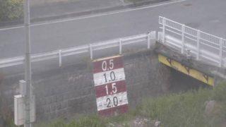 小波津川ライブカメラ(2ヶ所)と雨雲レーダー/沖縄県西原町