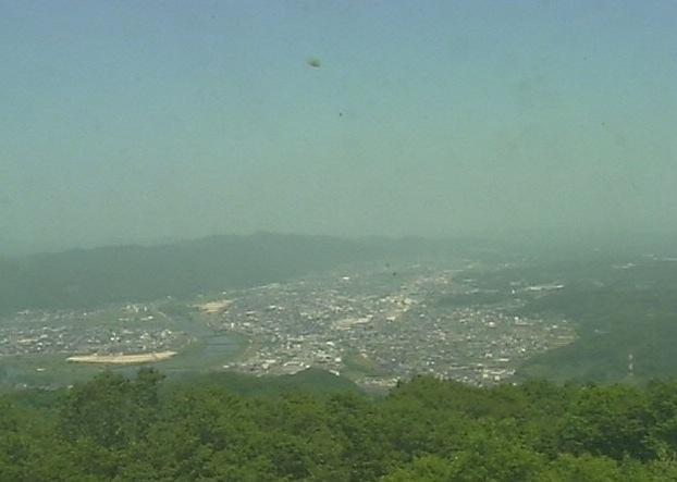 三次名物 「霧の海」や三次市街などライブカメラと雨雲レーダー/広島県三次市