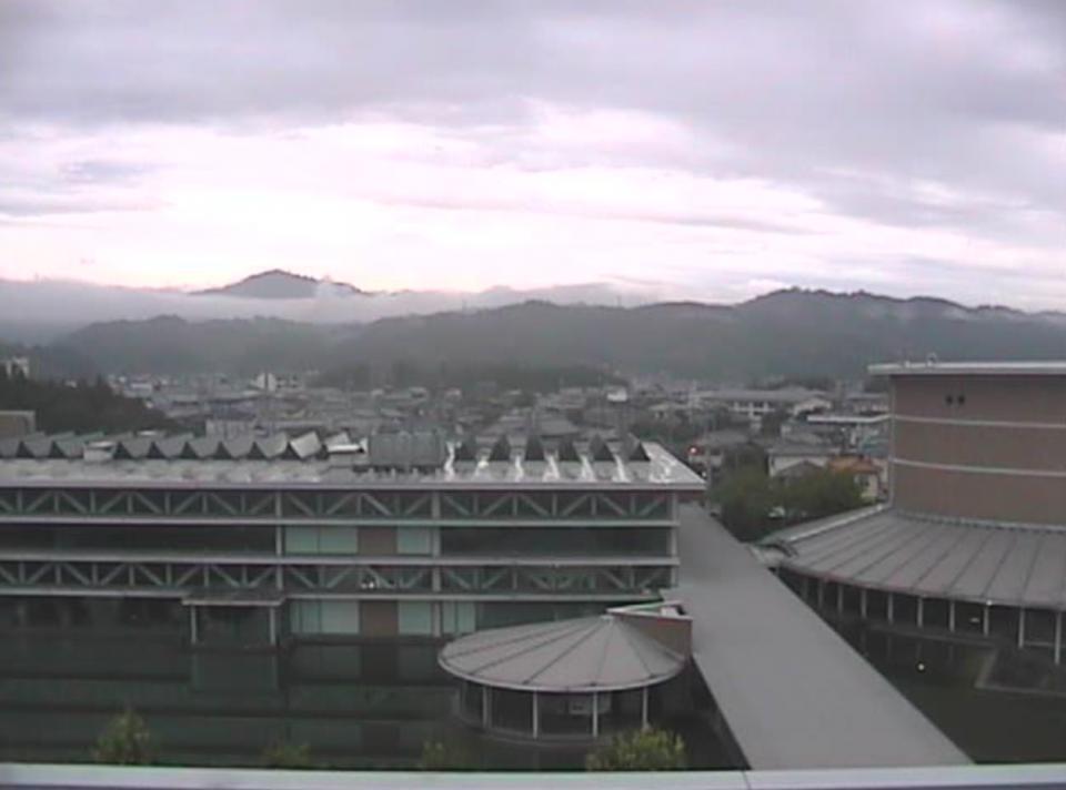 奈良県大淀町 奈良県大淀町役場の周辺ライブカメラと雨雲レーダー