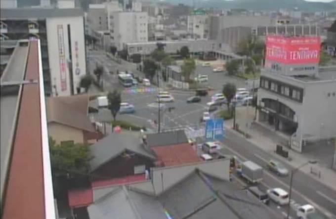 鳥取県米子市 国道9号・公会堂前交差点ライブカメラと雨雲レーダー