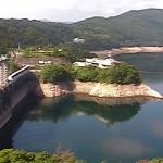 早明浦ダムの貯水状況ライブカメラ