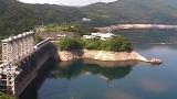 早明浦ダムの貯水状況ライブカメラと雨雲レーダー/高知県土佐町