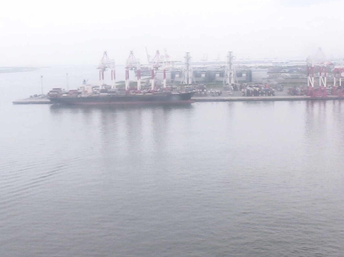 名古屋港海上交通センター ライブカメラと雨雲レーダー/愛知県名古屋市港区
