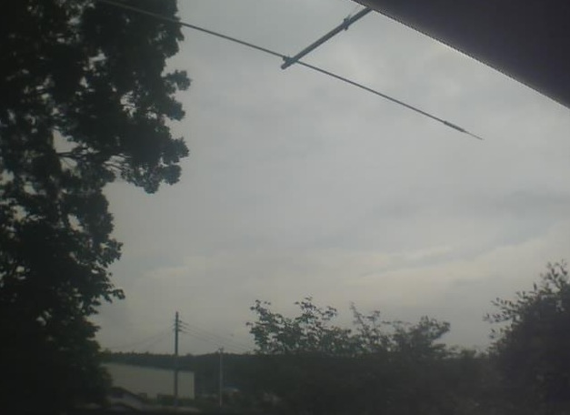 富士山ライブカメラ4と雨雲レーダー/静岡県富士宮市
