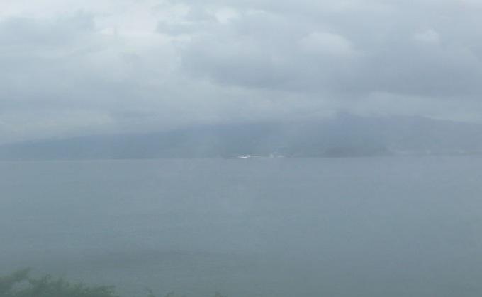 静岡県沼津市 西浦木負から見える富士山ライブカメラと雨雲レーダー