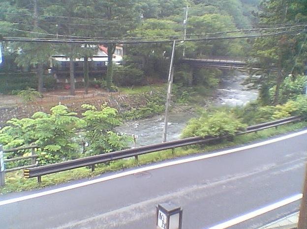 四万温泉柏屋旅館ライブカメラと雨雲レーダー/群馬県中之条町