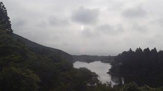 田貫湖畔から見える富士山ライブカメラと雨雲レーダー/静岡県富士宮市