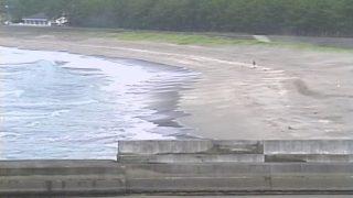 興津 小室付近の海岸ライブカメラと雨雲レーダー/高知県四万十町