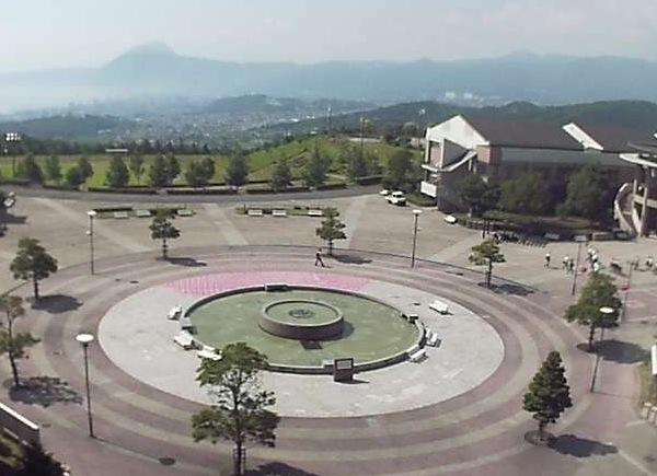 立命館アジア太平洋大学ライブカメラと雨雲レーダー/大分県別府市