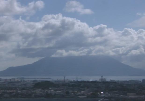 鹿児島国際大学から見える桜島ライブカメラ