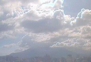 鹿児島大学から見える桜島ライブカメラ