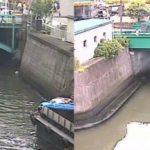 後楽橋(神田川)と三崎橋(日本橋川)ライブカメラ