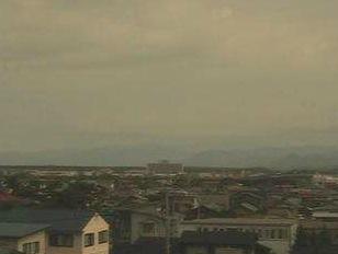 北羽新報社から見える能代市ライブカメラ