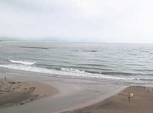 京都府京丹後市 浜詰ビーチライブカメラと雨雲レーダー