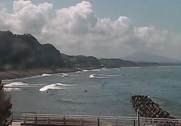 江口浜ライブカメラと雨雲レーダー/鹿児島県日置市