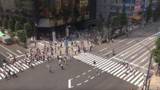 中央通り交差点ライブカメラ[USTREAM]と雨雲レーダー/東京都秋葉原