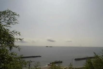 停止中:富山県氷見市 灘浦海岸ライブカメラと雨雲レーダー